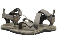 Columbia Wave Train Mud Canyon Gold Men's Sandals Brown