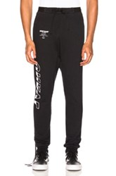 Unravel Tour Terry Low Rise Sweatpant In Black