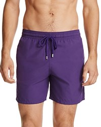 Vilebrequin Moorea Solid Swim Trunks Purple