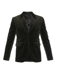 Burberry Long Sleeved Corduroy Blazer