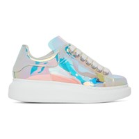 Alexander Mcqueen Multicolor Halographic Oversized Sneakers