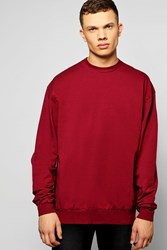 Boohoo Overlong Sweater Wine