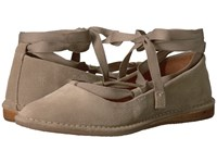 Frye Holly Ankle Tie Ash Soft Oiled Suede Women's Dress Sandals Gray