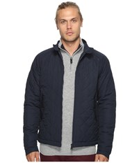 Ben Sherman Quilted Harrington Jacket Navy Blazer Men's Coat
