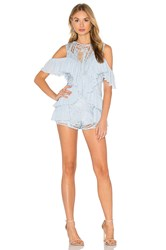 Alice Mccall You're Young So Have Fun Girl Playsuit Blue
