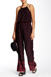 Romeo And Juliet Couture Wide Leg Jumpsuit Multi