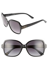 Juicy Couture Women's Shades Of 57Mm Square Sunglasses Black