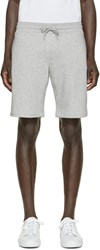 Moncler Grey And Tricolor Lounge Shorts