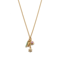J.Crew Star Charm Necklace Sweet Meadow