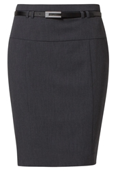 Anna Field Pencil Skirt Dark Grey