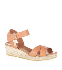 Kurt Geiger London Libby Wedge Sandal Female Peach