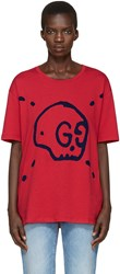 Gucci Red Ghost T Shirt