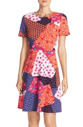 Women's Eci Mixed Print A Line Dress