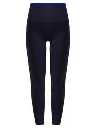 Lndr Six Eight Compression Performance Leggings Navy