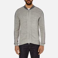 Boss Orange Men's Kabomber Knit Grey