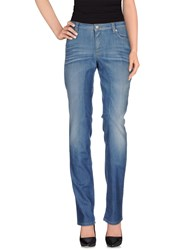 Siviglia Denim Denim Trousers Women Blue