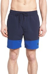 Jack Spade Men's Dipped Swim Trunks
