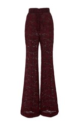 J. Mendel High Waisted Pant Burgundy