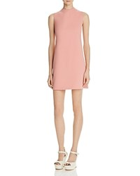 Alice Olivia Coley Mini Dress Dusty Rose