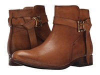 Frye Melissa Knotted Short Tan Polished Stonewash Women's Boots Brown