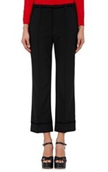 Marc Jacobs Women's Embellished Ankle Trousers Black
