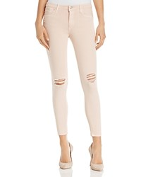 Black Orchid Noah Distressed Skinny Jeans In Rosewater
