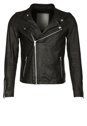 Revolution Leather Jacket Black