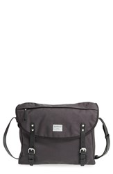 Men's Sandqvist 'Erik' Cordura Nylon Messenger Bag Grey Dark Grey