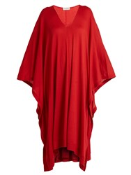 Le Kasha Tulum Cashmere Dress Red