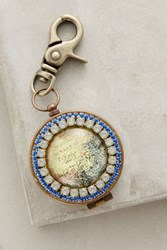 Anthropologie Traveler Keychain Gold