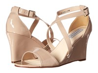 Touch Ups Jenna Nude Patent Women's Shoes Beige