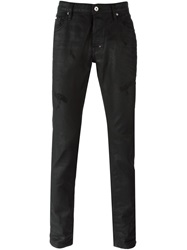 Just Cavalli Distressed Jeans Black