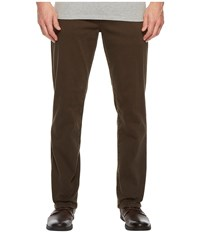 Liverpool Relaxed Straight Stretch Denim Jeans In Black Olive Black Olive