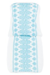 Melissa Odabash Amber Bandeau Dress White