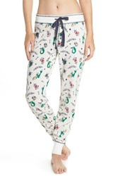 Pj Salvage Sleep Jogger Pants Ivory