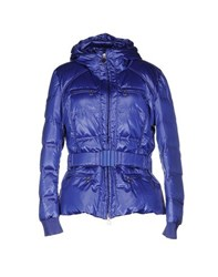 Geospirit Coats And Jackets Down Jackets Women Blue