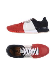 Pepe Jeans Footwear Low Tops And Trainers Men Red