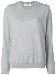 Pringle Of Scotland Fine Knit Sweater Grey
