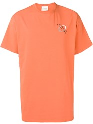 Filling Pieces Swirl T Shirt Orange