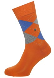 Burlington King Socks Carrot Orange