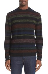 Paul Smith Men's Ps Stripe Merino Wool And Alpaca Sweater