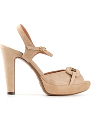 L'autre Chose Platform Shoe Nude And Neutrals