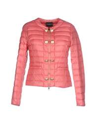 Atos Lombardini Coats And Jackets Down Jackets Pastel Pink
