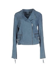 Ash Coats And Jackets Jackets Women Slate Blue