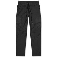 John Elliott High Shrunk Nylon Cargo Pant Black