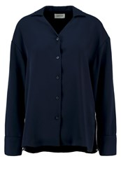 Wood Wood Steffi Blouse Navy Dark Blue