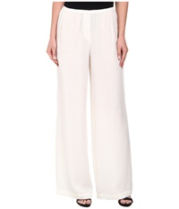 Bcbgmaxazria Nalan Wide Leg Pants Off White Women's Casual Pants Beige