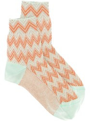 Missoni Herringbone Pattern Socks 60