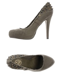 Ash Pumps Military Green