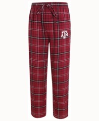 Concepts Sport Men's Texas A And M Aggies Ultimate Flannel Sleep Pants Maroon